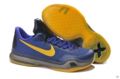 Nike Kobe X Blue Yellow Black