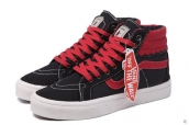 Vans High Women Black Red