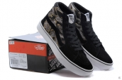 Vans High Women Leopard Black