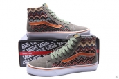 Vans High Women National Grey Orange