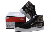 Vans High Leopard Black