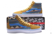 Vans High National Yellow Blue