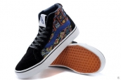 Vans High Weave Black Navy Blue