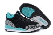 Air Jordan 3 Kids Leopard Black Green
