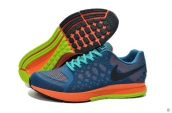 Nike Zoom Pegasus 31 KPU Blue Orange Turq Green Black