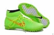 Nike Elastico Superfly TF Boots High Fluorescent Green Orange Black