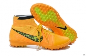 Nike Elastico Superfly TF Boots High Orange Black