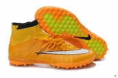Nike Elastico Superfly TF Boots High Orange White Black