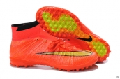 Nike Elastico Superfly TF Boots High Red Yellow Black