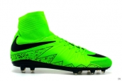 Nike Hypervenom Phelon 2 FG Boots High Green Black