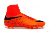 Nike Hypervenom Phelon 2 FG Boots High Red Black