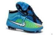 Nike Magista Obra FG With ACC Boots High Blue Green White