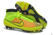 Nike Magista Obra FG With ACC Boots High Green Black Red