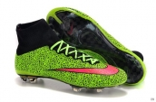 Nike Mercurial Superfly 4 FG Boots High Green Black Red