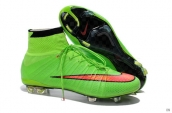 Nike Mercurial Superfly 4 FG Boots High Green Red Black