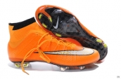 Nike Mercurial Superfly 4 FG Boots High Orange White Black