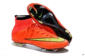 Nike Mercurial Superfly 4 FG Boots High Red Green Black