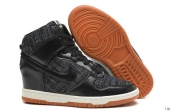 Nike Dunk SB SKY High Women Black Dark Grey Khaki