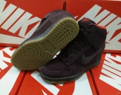 Nike Dunk SB SKY High Women Nigger-Brown Red