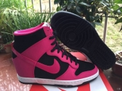 Nike Dunk SB SKY High Women Roes Red Black