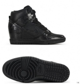 Nike Dunk SB SKY High Women Snakeskin Black