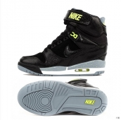 Nike Air Revolution Sky HI Women Black Green Grey