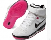 Nike Air Revolution Sky HI Women White Black