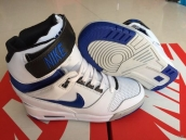 Nike Air Revolution Sky HI Women White Black Blue