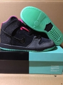 Women Nike Dunk High Premium SB Glow In Dark Coconut