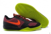 Nike Kobe Mentality Wine Red Black Fluorescent Green Red