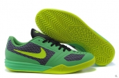 Nike Kobe Mentality Green Black Fluorescent Green