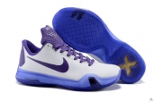 Nike Kobe X White Purple Blue