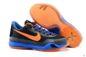 Nike Kobe X Black Blue Orange