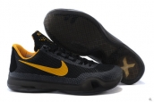 Nike Kobe X Black Golden