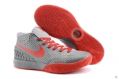 Nike Kyrie 1 Grey Red