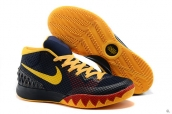 Nike Kyrie 1 Navy Blue Yellow Red