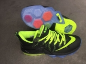 Nike Lebron 12 Low EP Black Fluorescent Green
