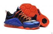 Nike Lebron 12 Low PRM Blue Black Orange