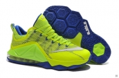 Nike Lebron 12 Low PRM Fluorescent Green Blue