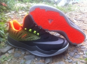 Nike Zoom Run The One EP Black Orange Fluorescent Green