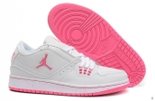 AAA Air Jordan 1 Flight Low Women White Pink