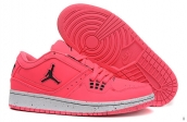 AAA Air Jordan 1 Flight Low Women Pink Black White