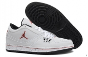 AAA Air Jordan 1 Flight Low White Red Black