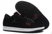 AAA Air Jordan 1 Flight Low Black White Red