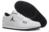AAA Air Jordan 1 Flight Low White Black