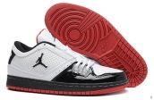 AAA Air Jordan 1 Flight Low White Black Red
