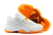 Women Air Jordan 11 Low Citrus 110
