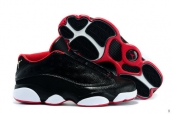 AAA Air Jordan 13 Low All Star Black Red White 140