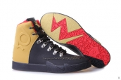 Nike KD VI High Navy Blue Golden Red