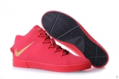 Nike Lebron 12 Casual Shoes Red Golden